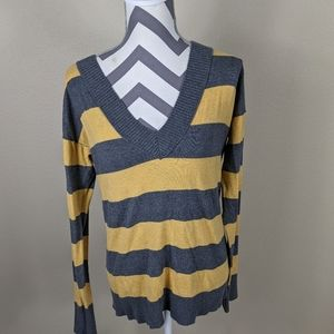 Mossimo Striped Long Sleeve Sweater